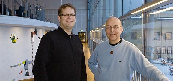 Jonny Holmström och Lars Mathiassen