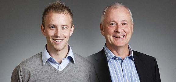 Martin Wiklund och Jan Snygg