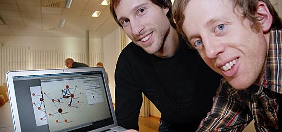 Daniel Edler och Martin Rosvall