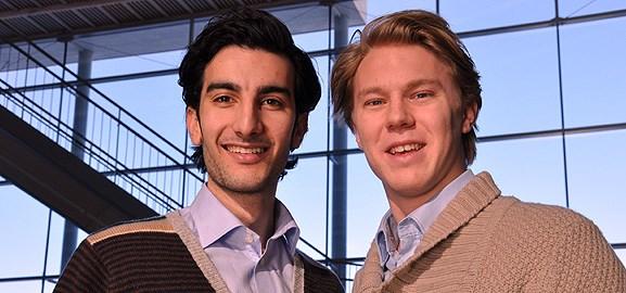 Hayden Baker och Hampus Jonsson