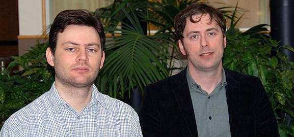 Luis Rocha och Petter Holme