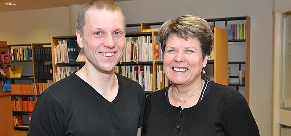 Ulf Hjerppe och Margareta Bergström, Brottsoffermyndigheten.