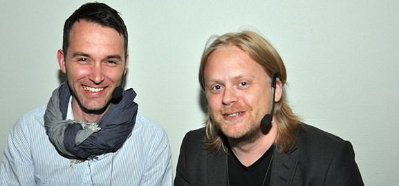 David Eriksson och Clemens Dopjans