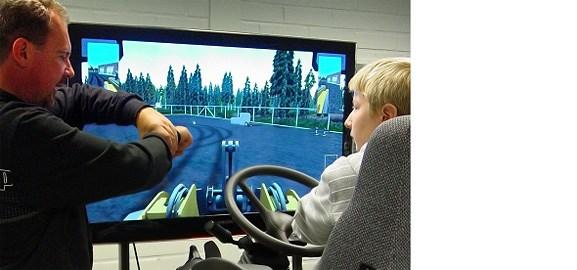 Simulator i Uleåborgs yrkesskola