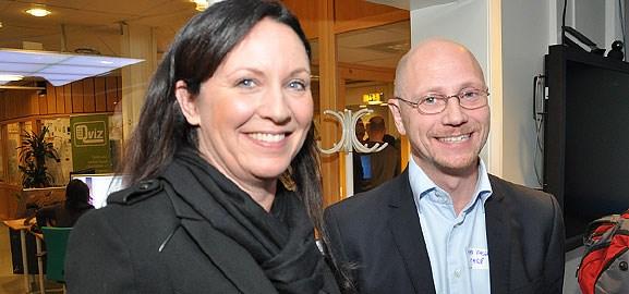 Åsa Mjörndal och Mats Falck