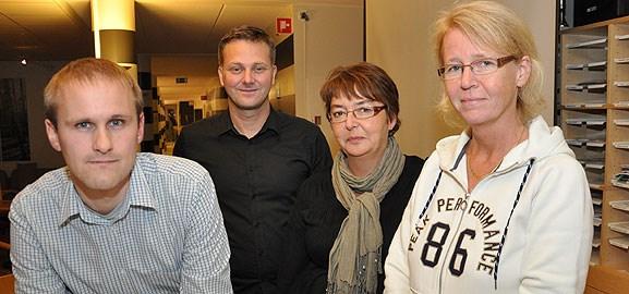 testnätverk i Umeå