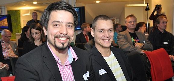 Emanuel Dohi och Joel Nordin