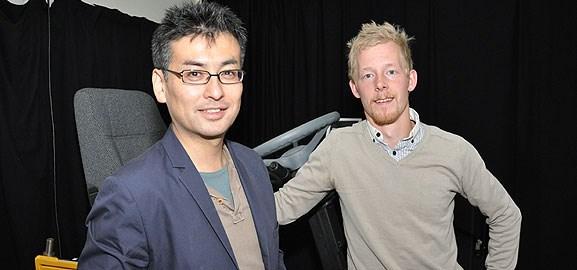 Kei Hoshi och Johan Granström