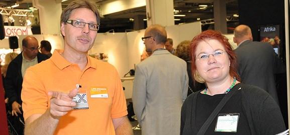 Lars Eriksson och Linnea Olsén