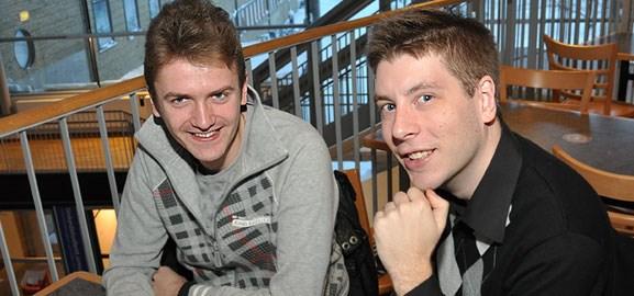 Kenneth Swedlund och Erik Ortman