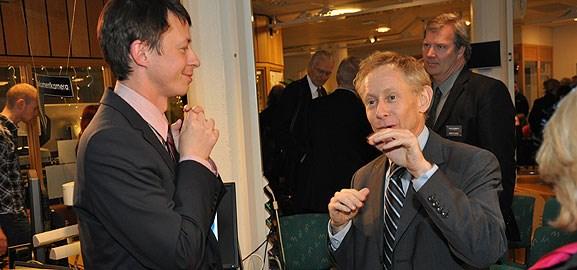Patrik Svensson och Peter Kopelman