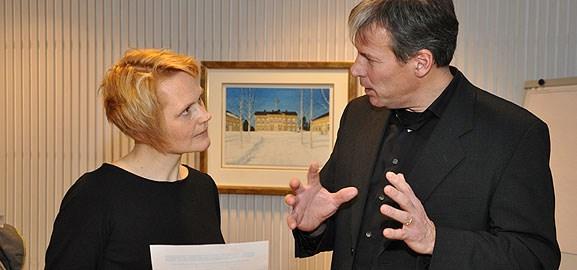 Anna-Karin Hatt och Per Levén
