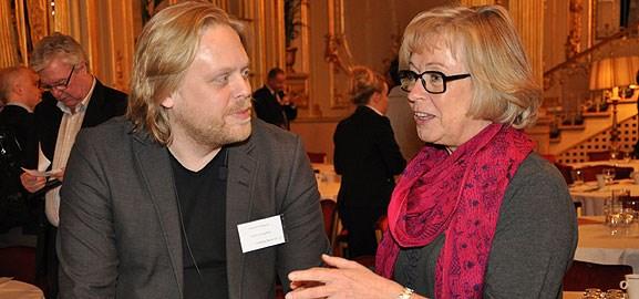 David Eriksson och Chris Heister