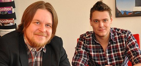 Johan Lundkvist och Joel Nordin