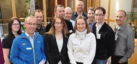 Företag träffar examensstudenter