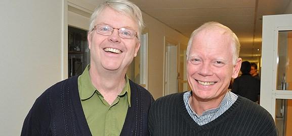 Olof Lindahl och Ronnie Lundström