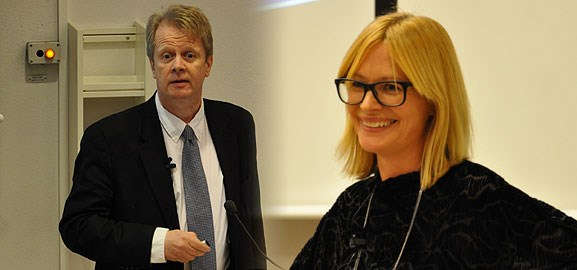 CiiR höstmöte med Kalle Lyytinen och Sara Öhrvall