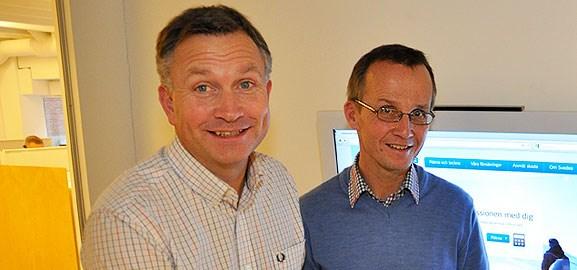Peter Juneblad och Anders Brändström