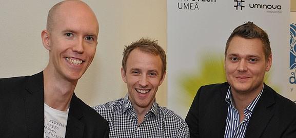 Henrik Jonsson, Martin Wiklund och Joel Nordin