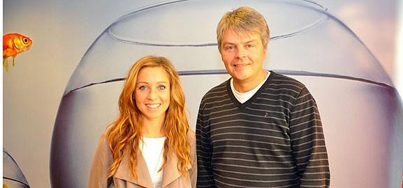 Maria Olofsson och Nils-Olof Forsgren