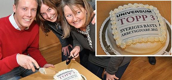 Sogeti Sveriges bästa arbetsgivare 2012