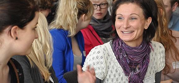 Räkmacka-seminarium för it-studenter