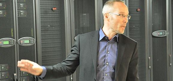 Besök hos Atea Datacenter i Umeå