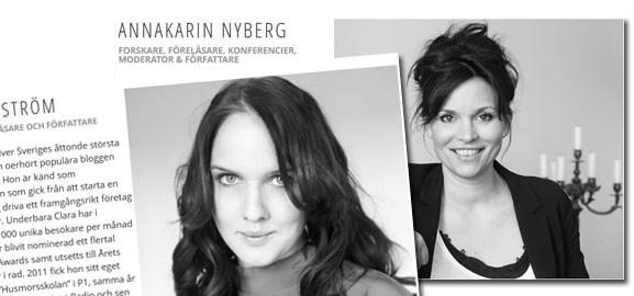 Clara Lidström och Annakarin Nyberg