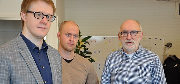 Mikael Berglund, Tommy Larsson, Jan Stenberg