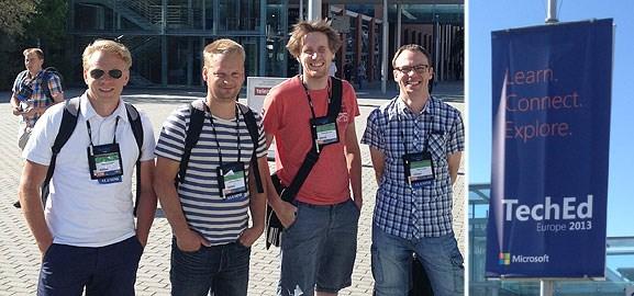 Hi5 på TechEd Europe 2013