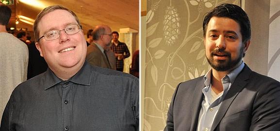 Johan Westin och Emanuel Dohi