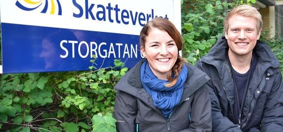 Sofie Linnér och Jonas Jansson