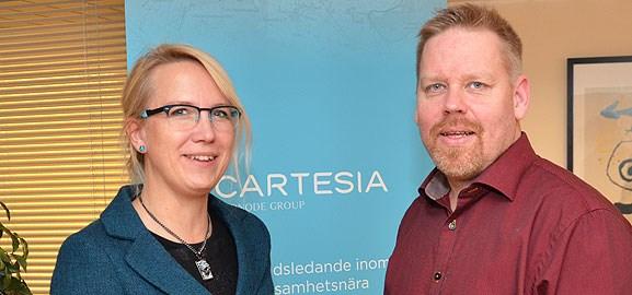 Sofia Gideonsson och Anders Haraldsson
