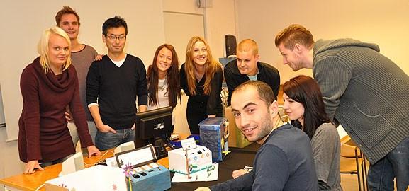BIT-studenter och Be Green Umeå