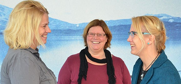 GISTECH - Monica Thander, Eva Karlsson och Sofia Gideonsson