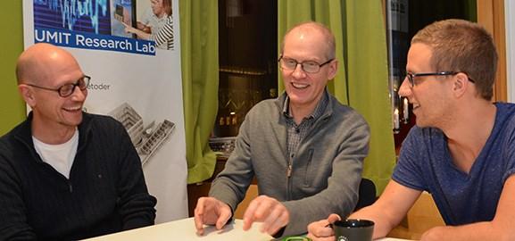 Mats Falck, Martin Berggren, Martin Servin