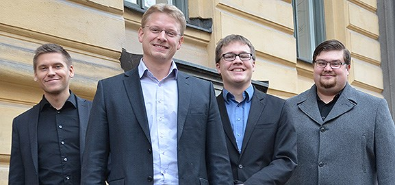 Linus Mähler, Henrik Nordström, Hans Maaherra, lenny Nilsson