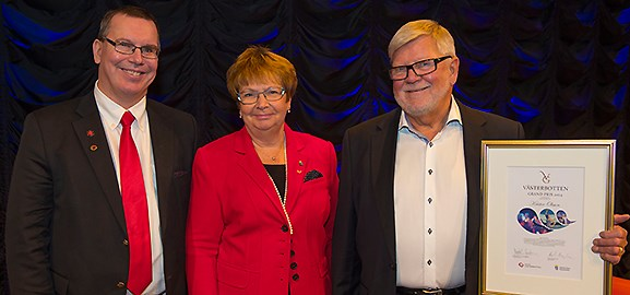 Erik Bergkvist, Magdalena Andersson och Krister Olsson