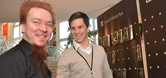 Jussi Autio och Jonas Nordin