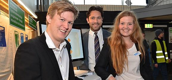 Erik Brännström, Andre Alatalo och Lna Fredriksson