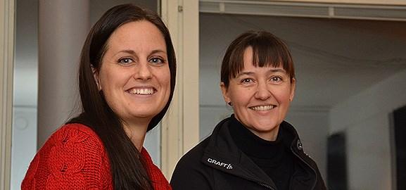 Jenny Österlund och Christina Skaskiw