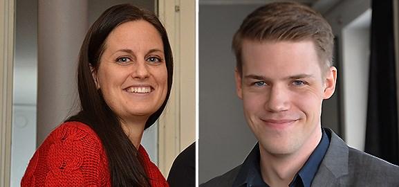 Jenny Österlund och Johan Tjäder