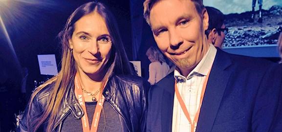 Lena Fridlund Forsgren och Joachim Ljungquist