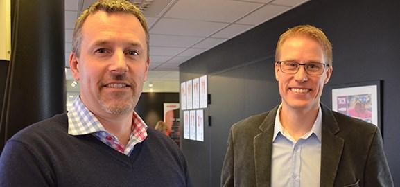 Mårten Mattsson och Stefan Sehlstedt