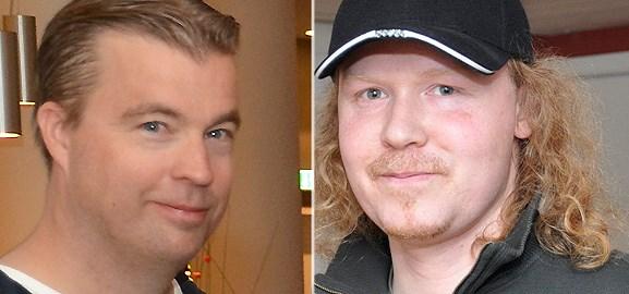 Fredrik Wester och Matti Larsson