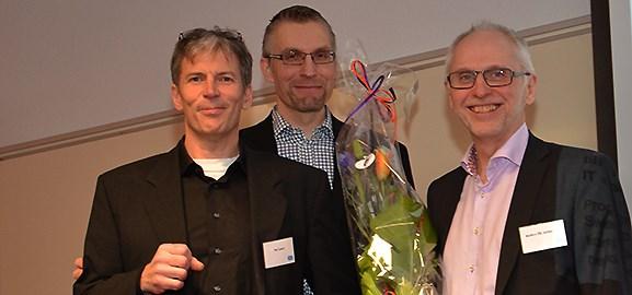Per Levén, John Lindström och Anders OE Johansson