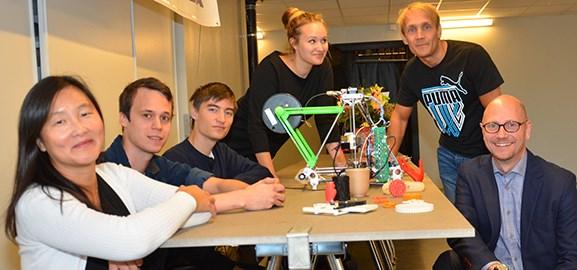 Seminarium i Sliperiet om 3D-skrivare