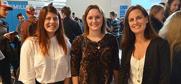 Lovisa carlsson, Caisa Wiklund och Jenny Österlund