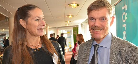 Lena Fridlund Forsgren och Ola Friström