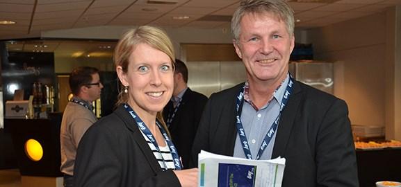 Anna-Carin Jonsson och Stig Rönnblom